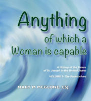Web  Sisters Of St Joseph  Bookcover Anythingwhichwomaniscapable Mcglone